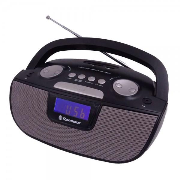 Roadstar ru275bk portabl radio usb-sd mp3 plejer