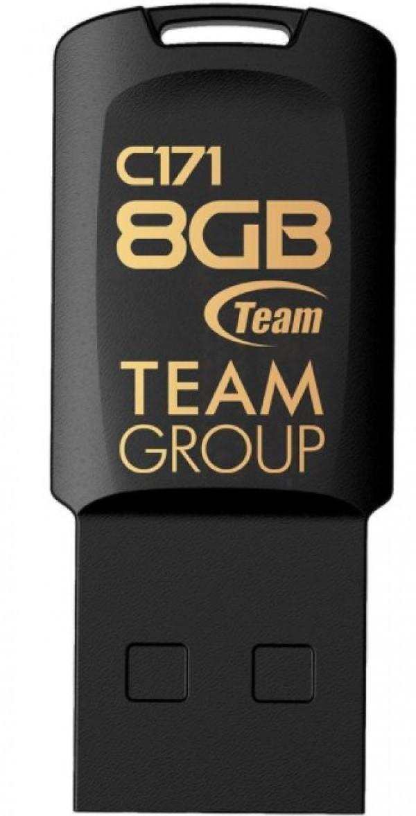 TeamGroup 8GB C171 USB 2.0 BLACK TC1718GB01