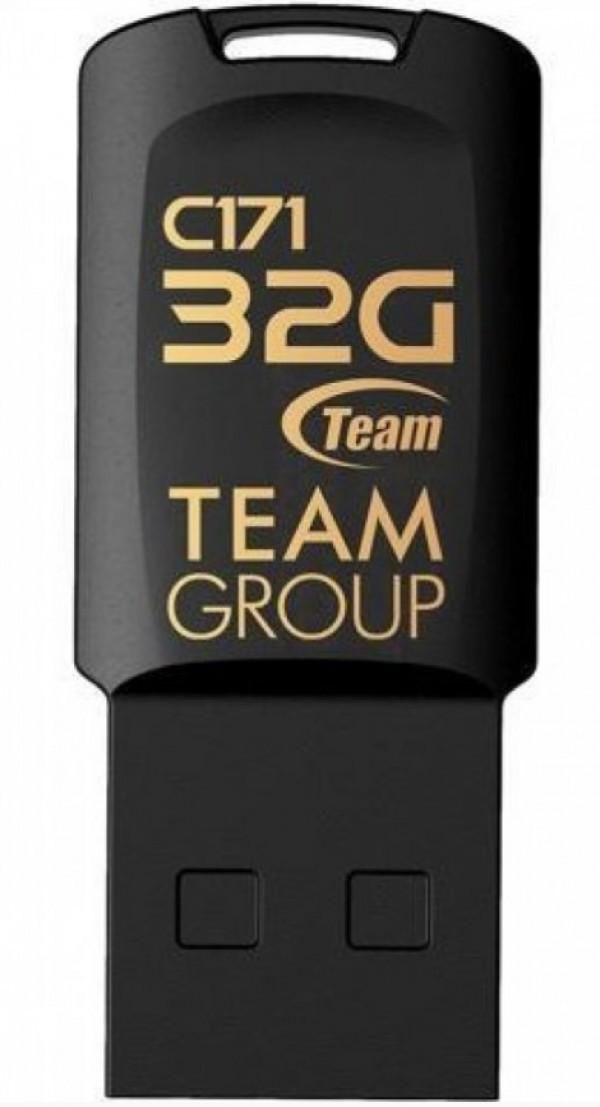 TeamGroup 32GB C171 USB 2.0 BLACK TC17132GB01