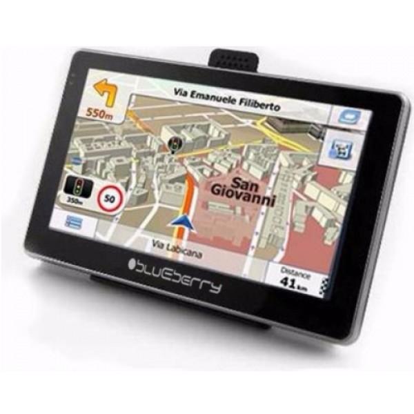 """GPS navigacija 5"""" Blueberry 2GO547 8GB 128MB/480x272/800MHz/FM"""