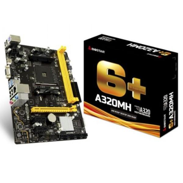 Matična ploča AM4 Biostar A320MH VGA/HDMI