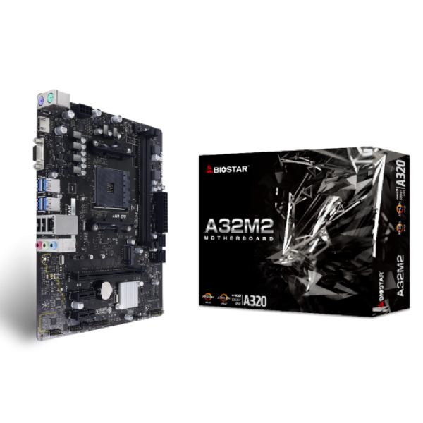 Matična ploča AM4 Biostar A32M2 A320 VGA/HDMI/M.2