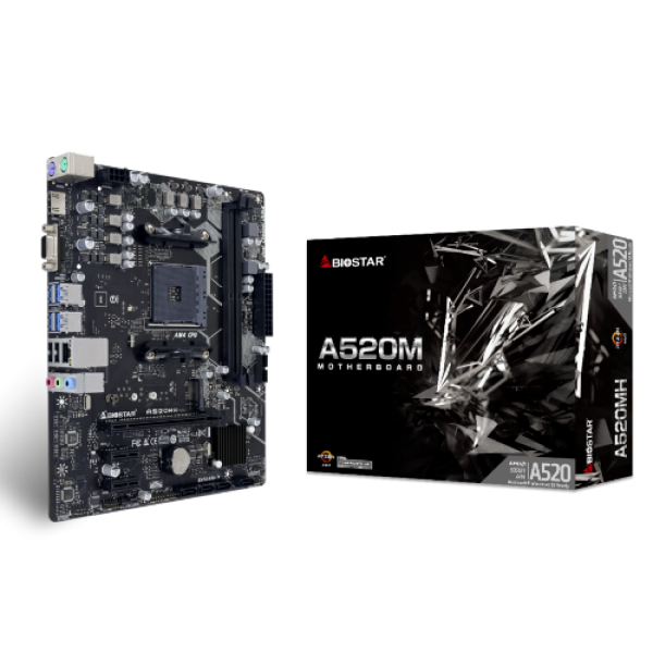 Matična ploča AM4 Biostar A520MH VGA/HDMI/M.2