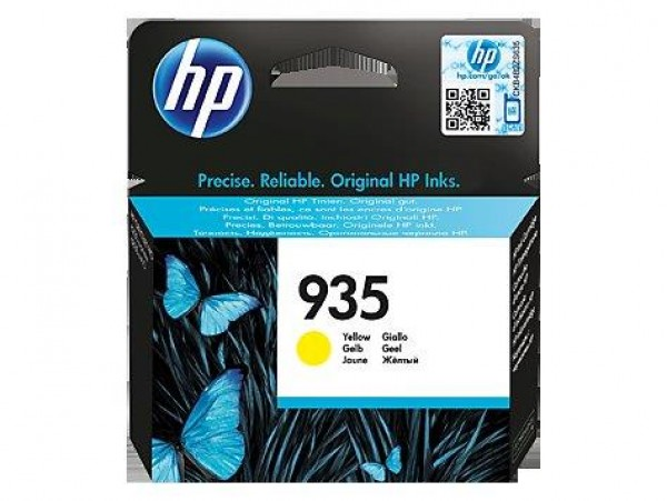 HP No. 935 Yellow Ink Cartridge Officejet Pro Printers 6230, All-in-One Products 6830 C2P22AE