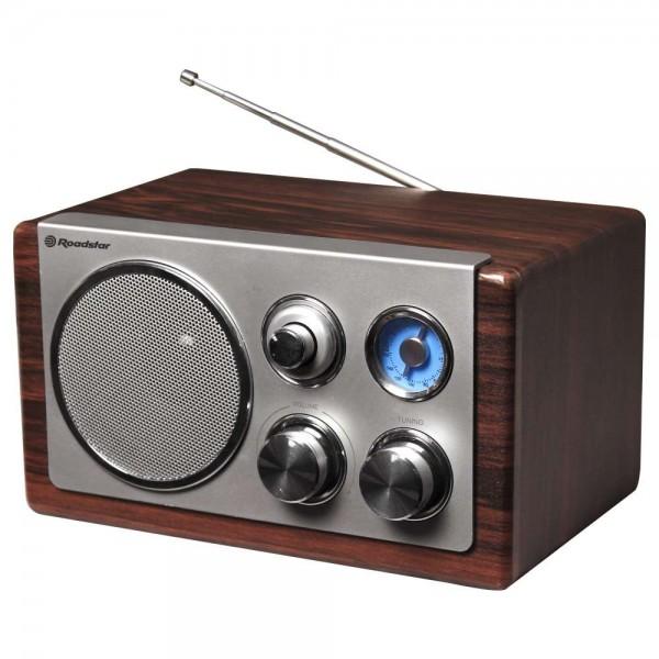Roadstar hra1245wd radio sa drvenim kućištem