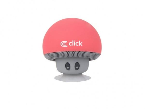 CLICK Bluetooth zvučnik BS-R-M Mushroom, pink