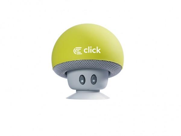 CLICK Bluetooth zvučnik BS-R-M Mushroom, zeleni
