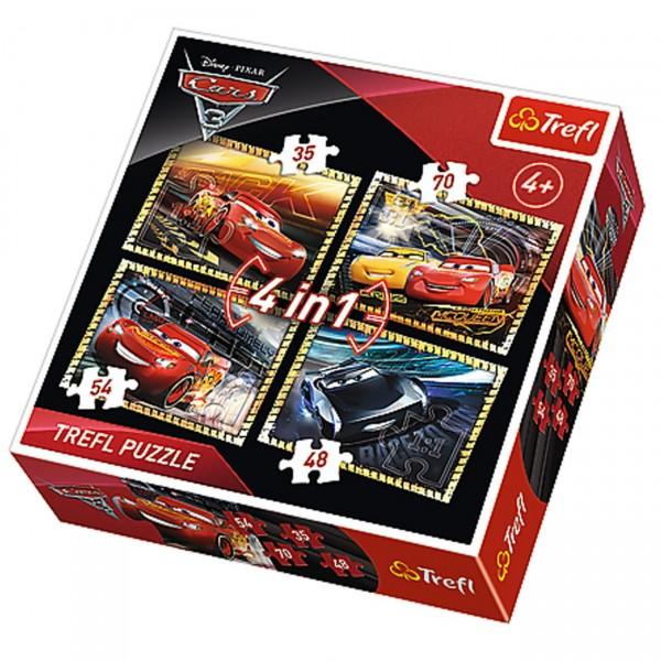 Slagalica 4 u 1, Cars ( 12-342765 )