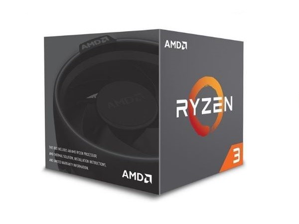 AMD Ryzen 3 1200 3,13GHz QC AM4 Procesor
