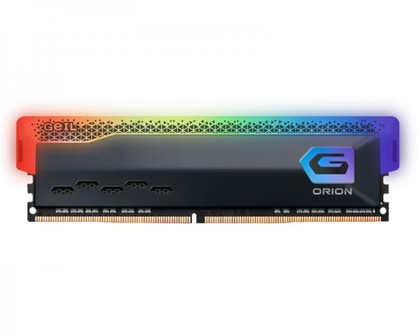 GEIL DIMM DDR4 8GB 3600MHz Orion RGB AMD Edition Gray GAOSG48GB3600C18BSC