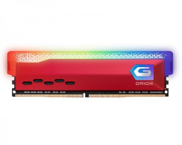 GEIL DIMM DDR4 8GB 3200MHz Orion RGB AMD Edition Red GAOSR48GB3200C16BSC