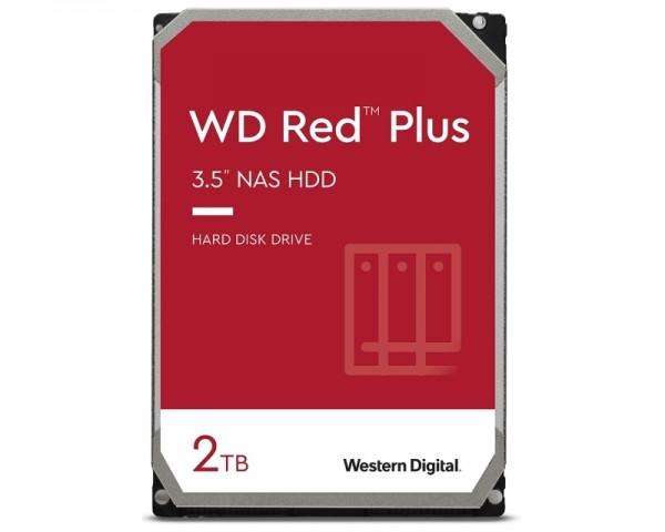 WD 2TB 3.5'' SATA III 64MB IntelliPower WD20EFZX Red