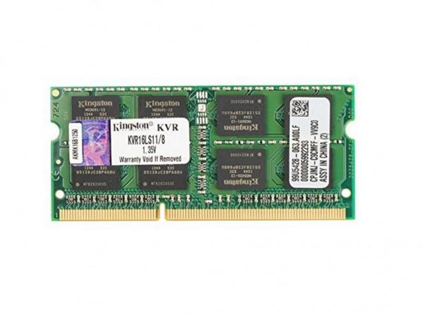 Kingston SODIMM DDR3 8GB 1600MHz KVR16LS118 1.35V