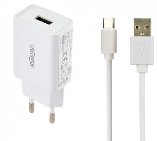 EG-UCSET-C-MX Gembird punjac za telefone i tablete 5V/2.1A USB Type-c USB kabl 1M