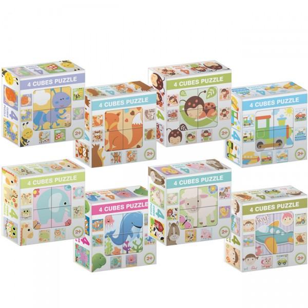 Kocke Puzzle 4 kom, sort ( 05-643000 )