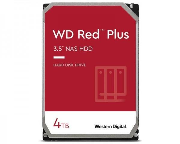 WD 4TB 3.5'' SATA III 128MB WD40EFZX Red Plus
