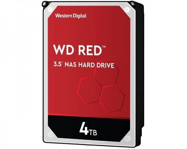 WD 4TB 3.5'' SATA III 64MB IntelliPower WD40EFAX Red