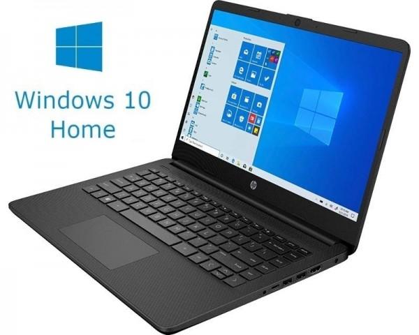 HP 14S-FQ0013DX 14'' AMD Athlon 3050U 4GB 128GB SSD Win10Home crni