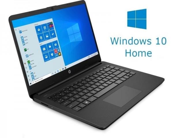 HP 14-DQ0001 14'' Celeron N4020 4GB 64GB Win10Home crni
