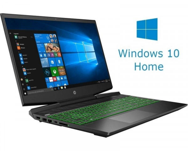 HP Pavilion 15-DK0096 15.6'' FHD i5-9300H 8GB 256GB SSD GeForce GTX 1650 Backlit Win10Home crni (1A2E1UA)