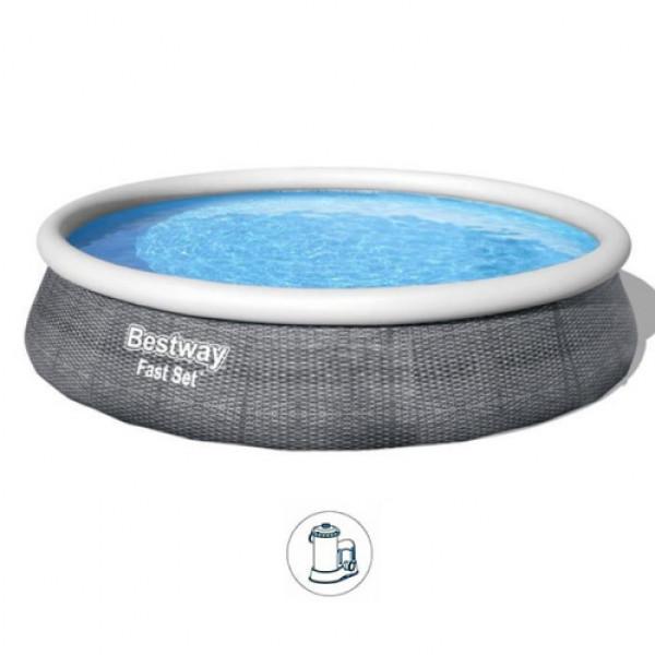 Bazen BestWay 396x84cm okrugli/filter pumpa