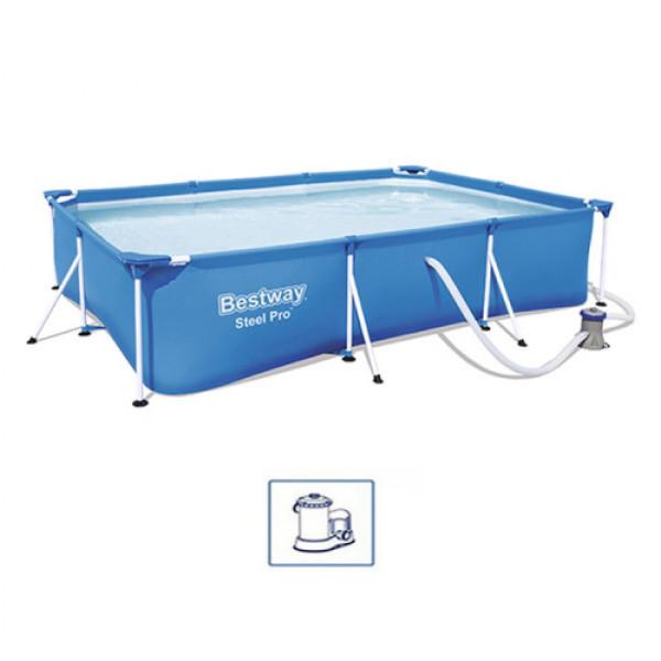 Bazen BestWay SteelProSet 300x201x66cm filter pumpa/metalna konstrukcija
