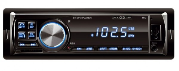 Auto radio SAL VBT1000/BL FM, USB, SD, 3,5mm, Bluetooth, 4x45W + daljinski