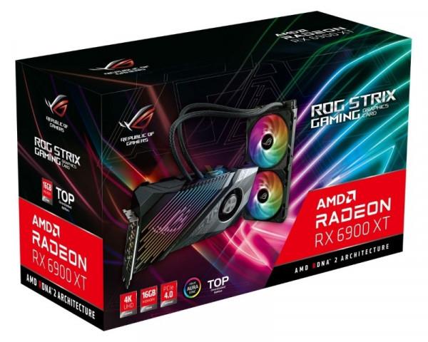 ASUS AMD Radeon RX 6900 XT 16GB 256bit ROG-STRIX-LC-RX6900XT-T16G-GAMING