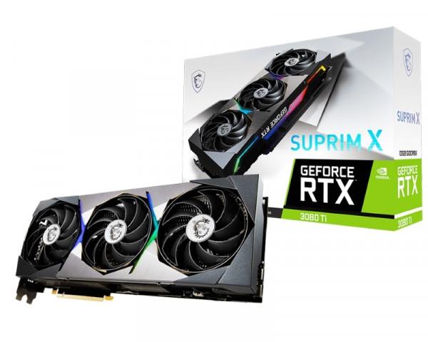 MSI nVidia GeForce RTX 3080 Ti 12GB RTX 3080 Ti SUPRIM X 12G