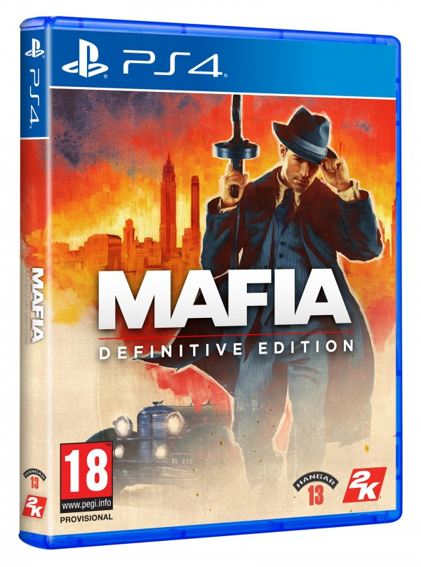NINTENDO Video igra PS4 MAFIA DEFINITIVE EDITION