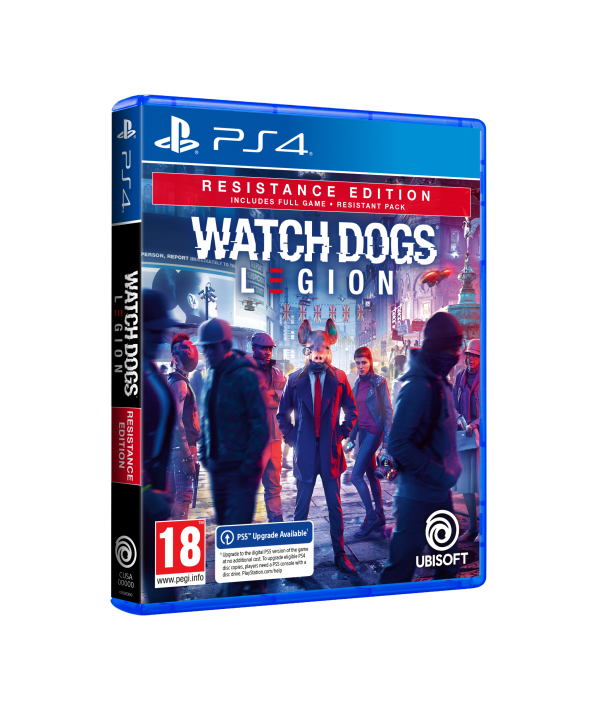 NINTENDO Video igra PS5 WATCH DOGS LEGION RESISTANCE ED