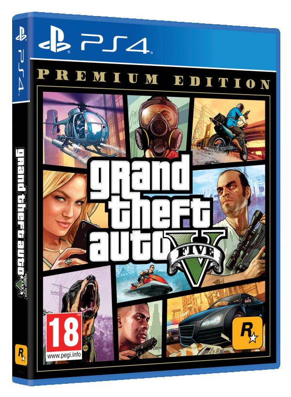 NINTENDO Video igra PS4 GTA 5 PREMIUM EDITION