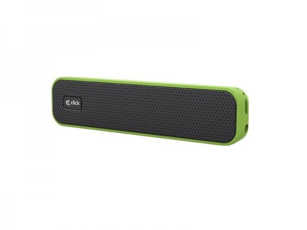 CLICK Zvučnik bluetooth BS-L1-GR  sa mikrofonom, zeleni