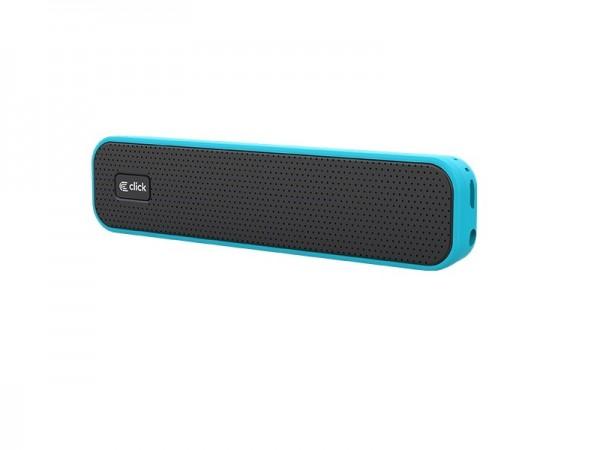 CLICK Zvučnik bluetooth BS-L1-BL  sa mikrofonom, plavi