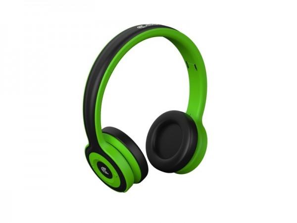 CLICK Slušalice bluetooth BH-L3-GR sa mikrofonom, zelene