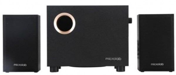 MICROLAB Zvučnici 2.1 M105R crni