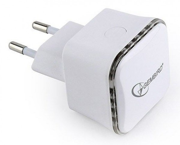 GEMBIRD WiFi Repeater WNP-RP300-01 WiFi 300Mbps, 1xLAN