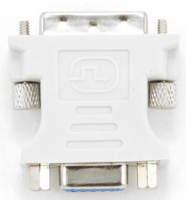 GEMBIRD A-DVI-VGA Adapter DVI-A 24-pin male to VGA 15-pin HD (3 rows) female DVI-I