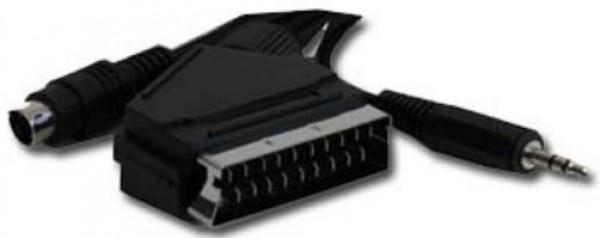 GEMBIRD CCV-4444-10M SCART plug to S-Video+audio kabl 10m