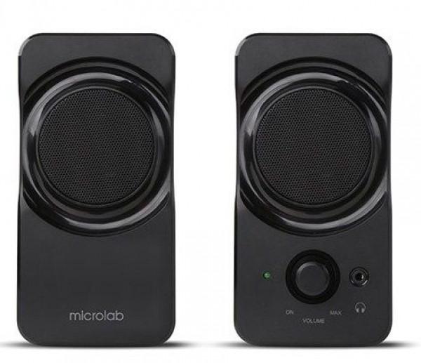 Microlab B-17 Stereo zvucnici, black, 6W RMS(2 x 3W), USB power,3.5mm