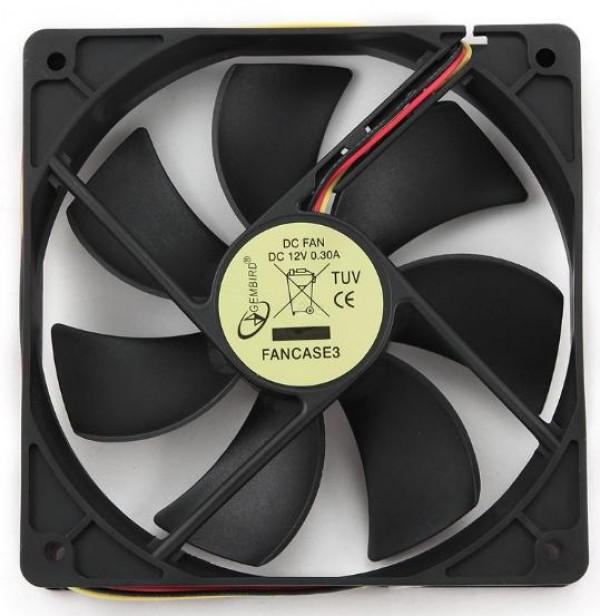 GEMBIRD FANCASE3  ventilator za kuciste 120x120x25mm