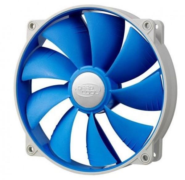 DeepCool UF140 * 140x140x26mm ball bearing ventilator, 700-1200rpm, 17.6-26.7dBa, 72CFM, 17
