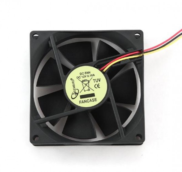 GEMBIRD FANCASE  ventilator za kućište 80x80x25mm