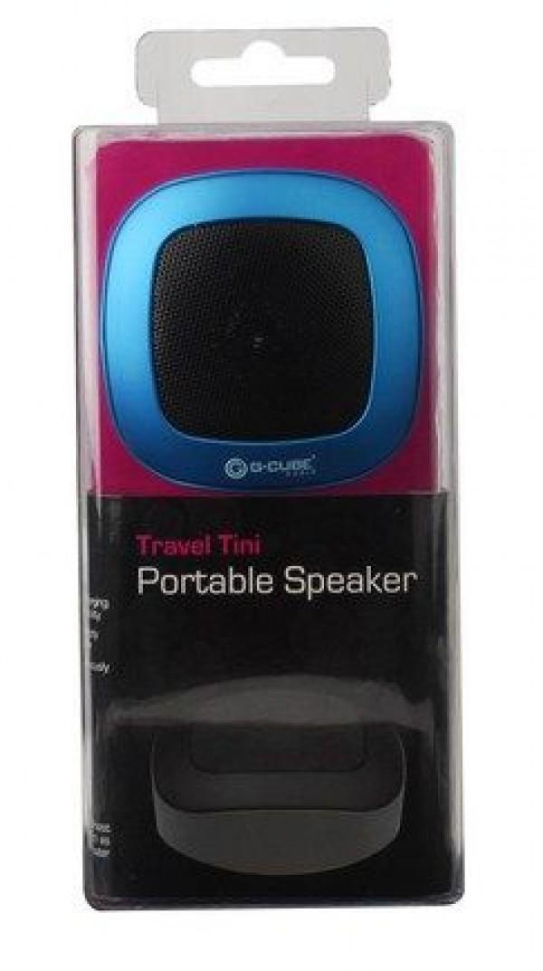 A4tech GCUBE A4-AST-80BR Portable zvucnici, ugradjena baterija, 3,5mm blue(599)