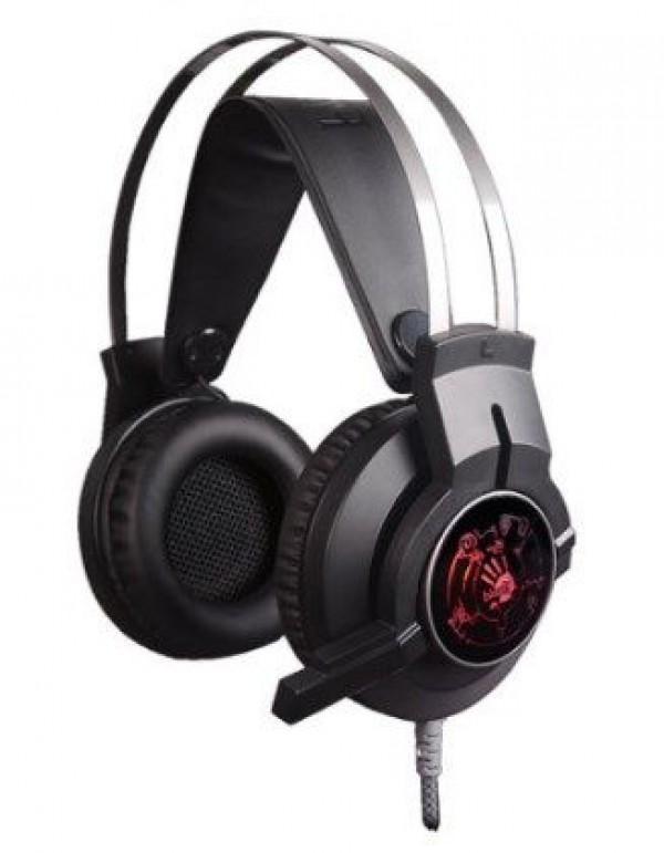 A4-TECH A4-G430 Bloody gejmerske slusalice sa mikrofonom, 40mm/32ohm, color LED, 2x3.5mmm+USB