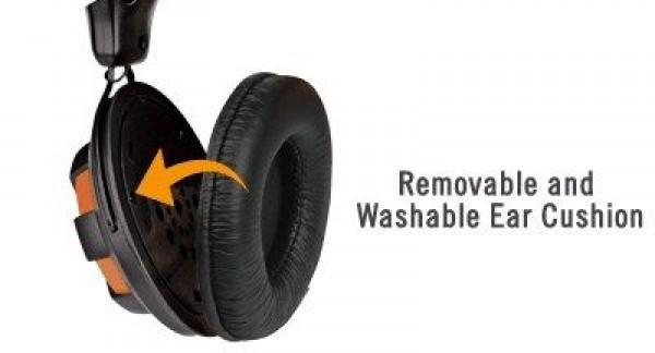 A4-TECH A4-HS-28-3 Gejmerske slusalice sa mikrofonom black/orange