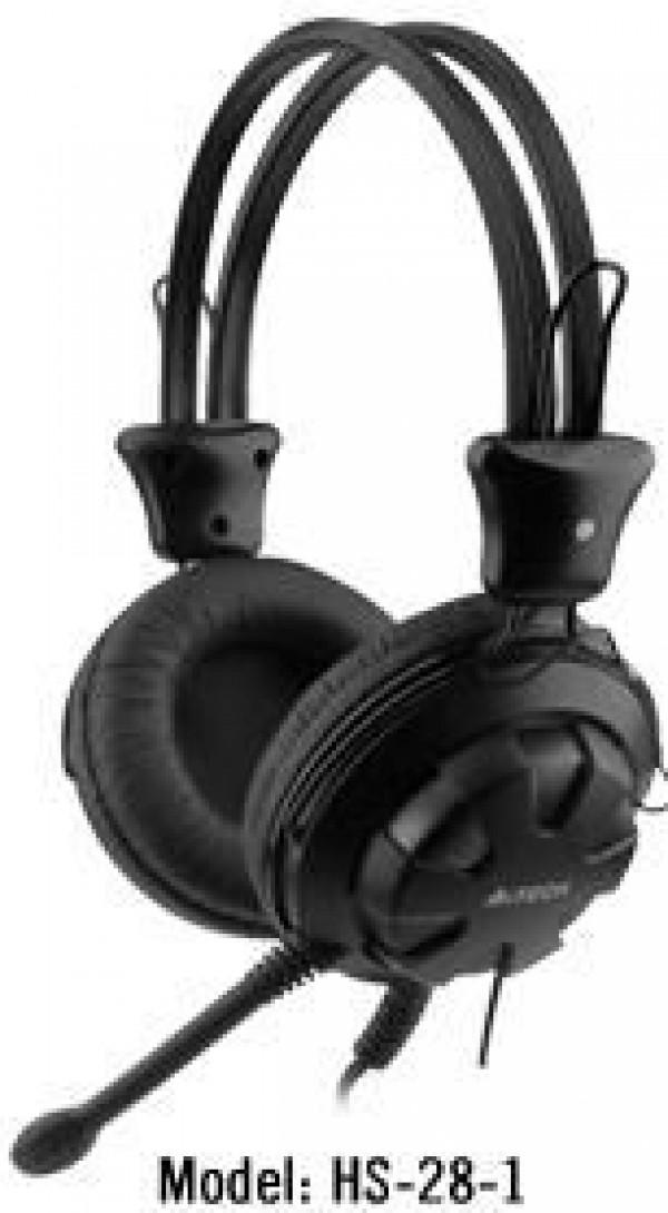 A4-TECH A4-HS-28-1 Gejmerske slusalice sa mikrofonom black