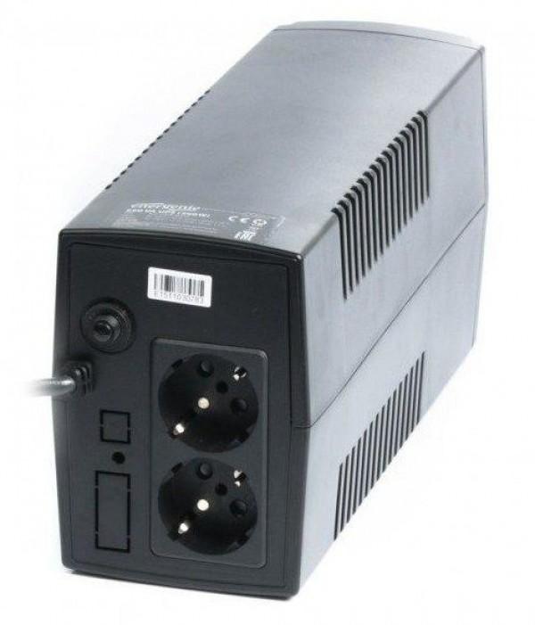GEMBIRD EG-UPS-B650  650VA 390W AVR UPS, 2 x Shuko output sockets, black