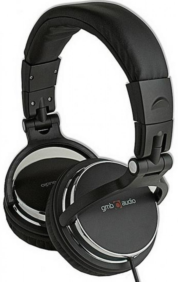 GEMBIRD MHP-YUL-BK DJ Stereo headphones with volume control, foldable design, black color, 6.35mm + adapt