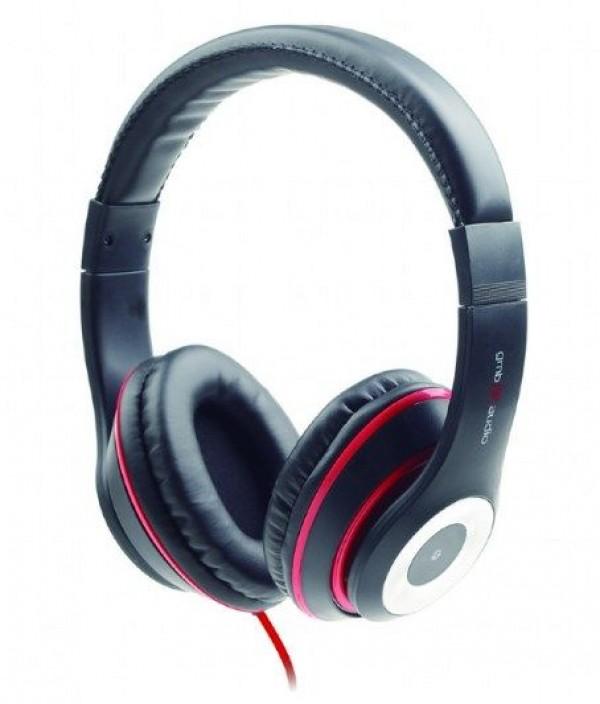 GEMBIRD MHS-LAX-B  Stereo slusalice sa mikrofonom \''Los Angeles\'' black (1x3,5mm)